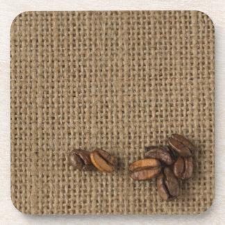 Coffee beans coaster