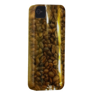 Coffee Beans in a bottle iPhone 4 Cover