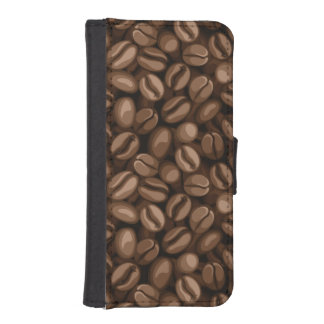 Coffee beans iPhone SE/5/5s wallet case