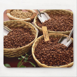 Coffee Beans Mouse Mat