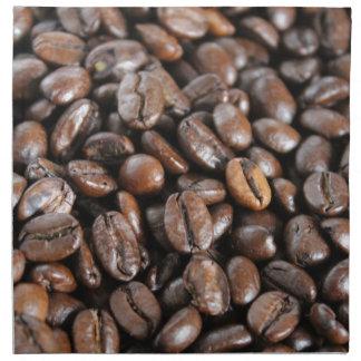 Coffee beans napkin