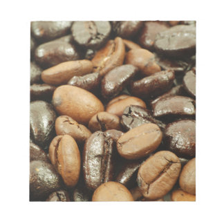Coffee beans notepads