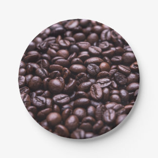 Coffee Beans paper plates