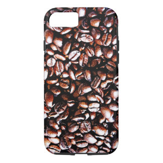Coffee Beans Pattern - Dark Roast iPhone 7 Case