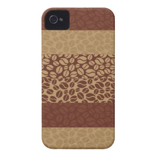 Coffee Beans Pattern iPhone 4 Case-Mate Case