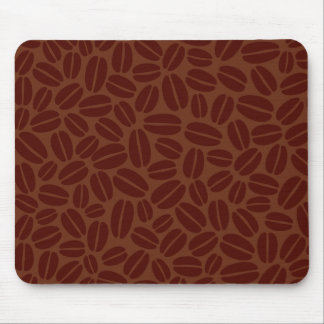 Coffee Beans Pattern Mouse Mat