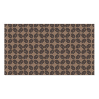 COFFEE BEANS PATTERN No. 1 Business Card