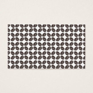 COFFEE BEANS PATTERN No. 2 Business Card