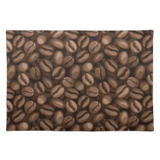Coffee beans placemat