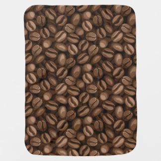 Coffee beans pramblanket