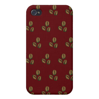 coffee beans red iPhone 4 cover