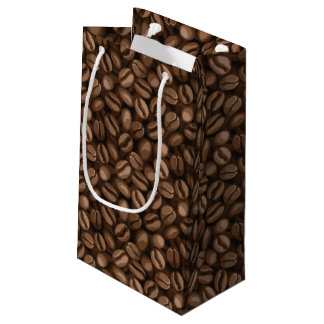 Coffee beans small gift bag
