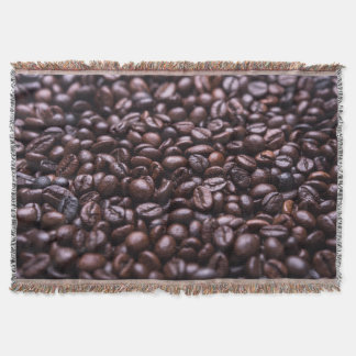 Coffee Beans throw blanket