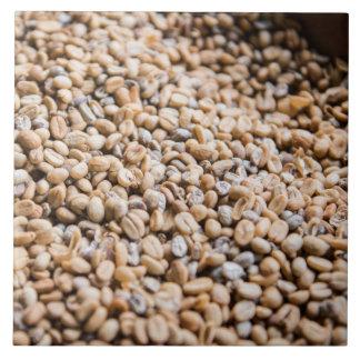 Coffee beans tile