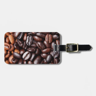 Coffee Beans - whole light and dark roasted Luggage Tag