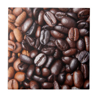 Coffee Beans - whole light and dark roasted Tile