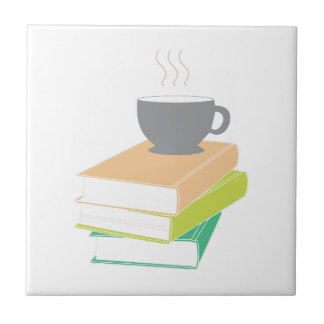 Coffee & Books Tile