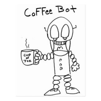 Coffee Bot Postcard