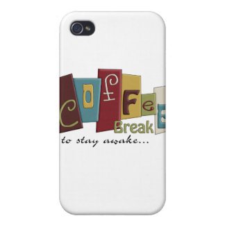 Coffee Break Design iPhone 4 Cases