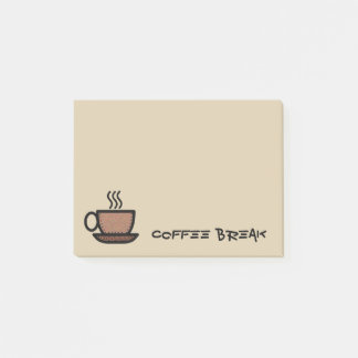 Coffee Break Post-it Notes
