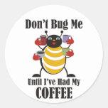 Coffee Bug Stickers