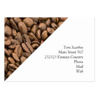 coffee business card