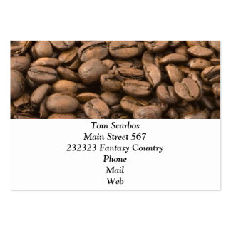 coffee business card templates