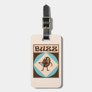 Coffee Buzz Luggage Tag