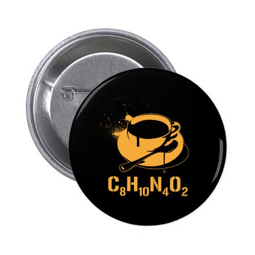 Coffee C8H10N4O2 Pins