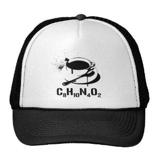 Coffee C8H10N4O2 Trucker Hat