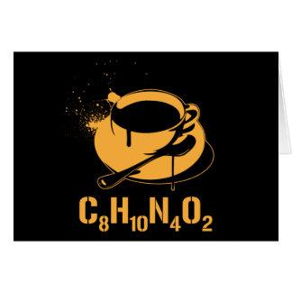 Coffee C8H10N4O2 Card