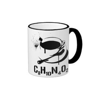 Coffee C8H10N4O2 Ringer Mug