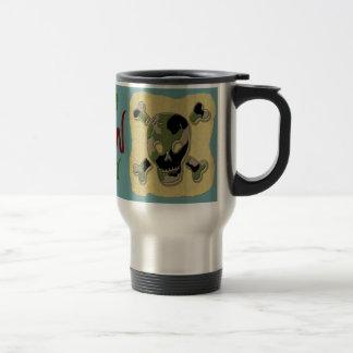 Coffee Camo Skull #2 mug