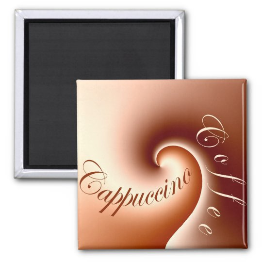 Coffee cappuccino - Magnet