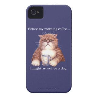 Coffee Cat Case-Mate iPhone 4 Case