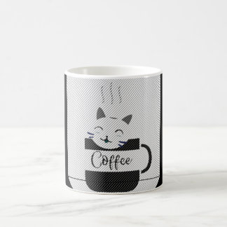 Coffee & cat coffee mug
