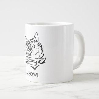 Coffee Cat Large Coffee Mug