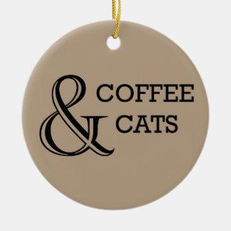 Coffee & Cats Ornament