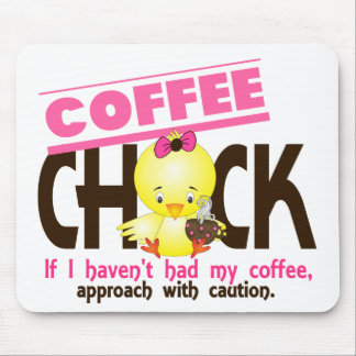 Coffee Chick 1 Mouse Mat
