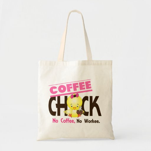 Coffee Chick 2 Canvas Bag