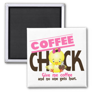 Coffee Chick 4 Magnet
