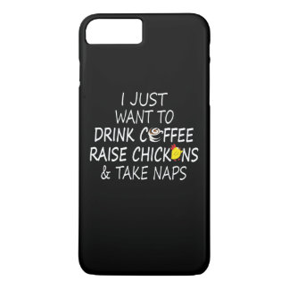 Coffee, Chickens And Naps iPhone 8 Plus/7 Plus Case