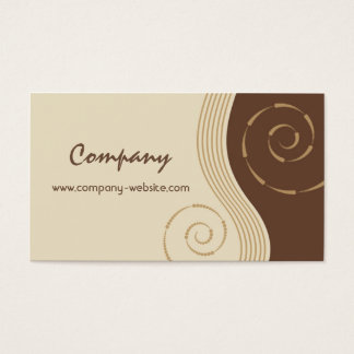 Coffee & Chocolate Business Card