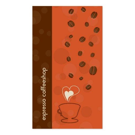 Coffee & Chocolate Business Card