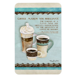 Coffee & Chocolate Java - Kitchen Decor Magnet