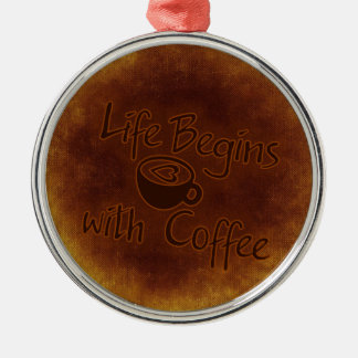 Coffee Christmas Ornament