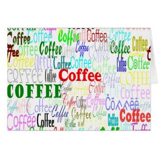 Coffee Coffee Coffee! Card