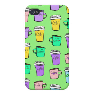 coffee coffee coffee case iPhone 4/4S cases