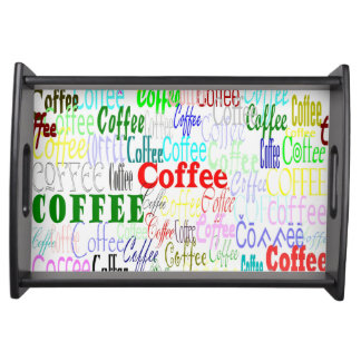 Coffee Coffee Coffee! Serving Tray