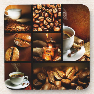 Coffee Collage 2 Beverage Coaster
